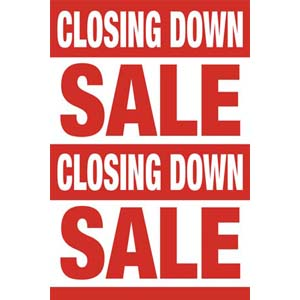 Closing Down Posters