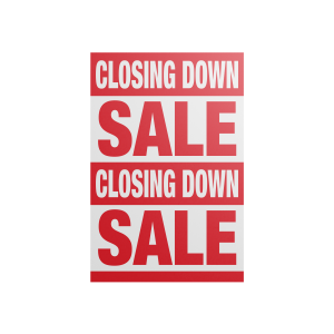 A Closing Down Posters